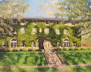 Fraternity Painting Prints - Fiji Fraternity House Purdue Print by Steve Haigh
