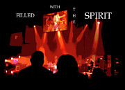 Francis Digital Art Posters - Filled with the Spirit Poster by Karen Francis