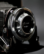Equipment Art - Film camera in black by Kitty Ellis