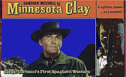 Cameron Mitchell Art - Film Homage Cameron Mitchell Minnesota Clay Lobby Card 1964-2013 by David Lee Guss