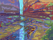 Canyon Paintings - Filtered Light by Howard Ganz