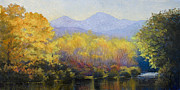 Front Range Painting Prints - Filtered Light Print by Vicky Russell