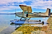 Seaplane Prints - Filucy Bay Airport Print by Benjamin Yeager