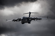 Military Aviation Art Photo Posters - Final Approach Poster by Paul Job