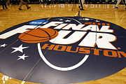 Msu Prints - Final Four Houston Floor  Print by John McGraw