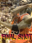 Chicago Bulls Prints - Final Shot Print by Pat Mchale