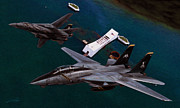 Usn Prints - Final Tomcat Cruise Print by Dale Jackson