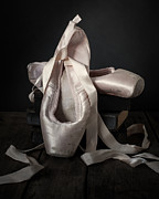 Pointe Shoes Posters - Finale Poster by Amy Weiss