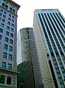 San Francisco Financial District Digital Art - Financial District Buildings in San Francisco-CA by Ruth Hager
