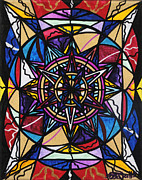 Spiritual Painting Framed Prints - Financial Freedom Framed Print by Teal Eye  Print Store