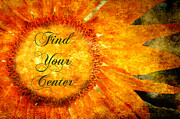 Find Your Center  Print by Andee Photography