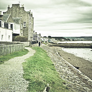 Trawler Metal Prints - Findhorn path Metal Print by Tom Gowanlock