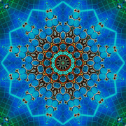 Kaleidoscope Art - Findings 1 by Wendy J St Christopher