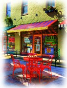 Sunlight Mixed Media Metal Prints - Findlay Market in Cincinnati 1 Metal Print by Mel Steinhauer