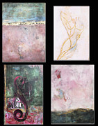 Film Mixed Media Prints - Fine Art Abstracts Licensing Print by Anahi DeCanio