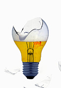 Lightbulb Prints - Fine Art Untitled No.27 Print by Caio Caldas