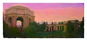 Italian Sunset Digital Art Posters - Fine Arts Palace Poster by Kat Smith