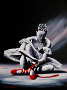 The Ballet Painting Originals - Finishing touch by J P  McLaughlin