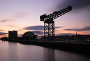 Finnieston Crane Glasgow  Print by Grant Glendinning