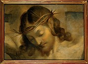 Christ Face Posters - Fiori Federico Known As Barocci Poster by Everett