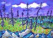 Ion vincent DAnu - Fir Trees in the Taiga