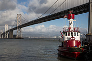 Fireboat Photos - Fire Boat #2 by John Daly