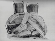 Firefighter Originals - Fire Boots by George Carl
