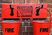 James Brunker - Fire Buckets 1