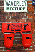 Scarlet Posters - Fire Buckets 2 Poster by James Brunker