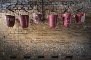 Wall Photos - Fire Buckets by Svetlana Sewell