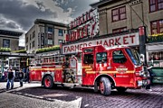 Spencer Photo Prints - Fire Engine #5 Print by Spencer McDonald
