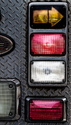 Subtle Metal Prints - Fire Engine  Metal Print by Bob Orsillo