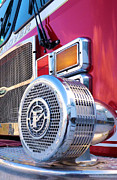 Truck Digital Art - Fire Engine Red by Armand  Roux - Northern Point Photography