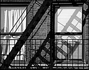 Fire Escape Print by James Aiken