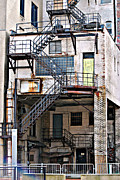 Escape Photo Originals - Fire Escape by Tim Hauser