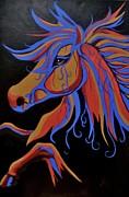 Fire Horse Print by Anne Gardner