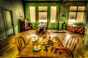 David Morefield - Fire House Bunk Room