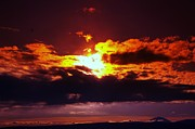Sun Rays Art - Fire In The Clouds by Jeff  Swan