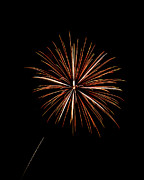 Fire Works Prints - Fire Works Print by Gary Langley