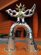 Uptown Charlotte Art - Firebird At Bechtler by Randall Weidner