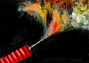 Ventura California Originals - Firecracker Explodes. Red Stick. Bang Series No. 4 by Cathy Peterson