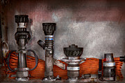Plumbing Prints - Firefighting - One for everyone Print by Mike Savad