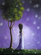 Firefly Fairy By Shawna Erback Print by Shawna Erback