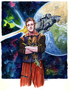 Television Paintings - Firefly Wash by Ken Meyer jr