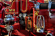 Fire Equipment Framed Prints - Fireman - Fire Engine No. 2 Framed Print by Paul Ward