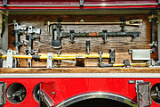 Fire Equipment Framed Prints - Fireman - Life Saving Tools Framed Print by Paul Ward