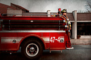 Siren Framed Prints - Fireman - Metuchen NJ - Always on call Framed Print by Mike Savad