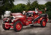 Fireman - Phoenix No2 Stroudsburg Pa 1923  Print by Mike Savad