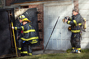 Jacket Photos - Fireman - Take all fires seriously  by Mike Savad
