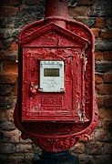 Fire Truck Photos - Fireman - The Fire Alarm Box by Paul Ward